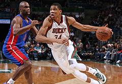 Bucks Top Pistons, Fall to Spurs