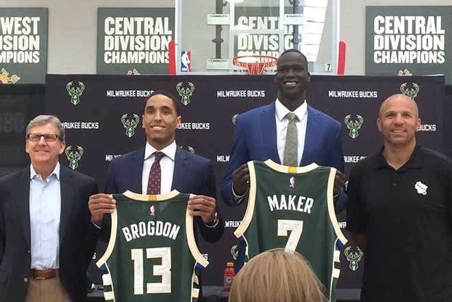 Bucks Add Character With Maker, Brogdon