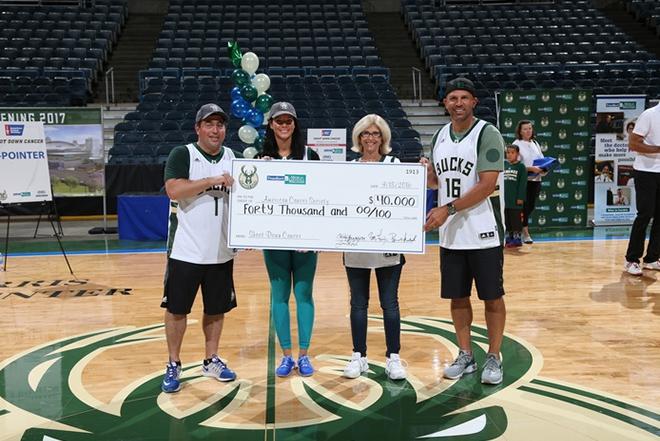 Bucks Fans Help J-Kidd Shoot Down Cancer