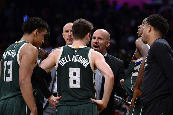 Bucks Sweep in L.A., Fall to Warriors
