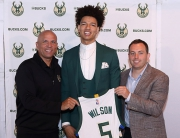 Milwaukee Bucks Introduce D.J. Wilson during a Press Conference