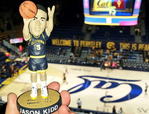Cal Honors Kidd With Bobblehead