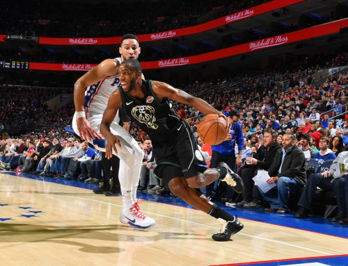 Shorthanded Bucks Fall to 76ers