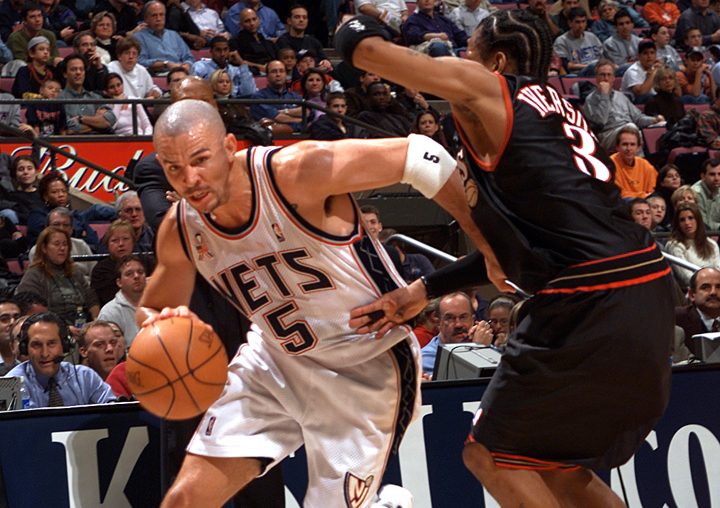 sports shoes 695a4 f9e6a A CAREER IN PICTURES - The Official Web Site of Jason Kidd ...