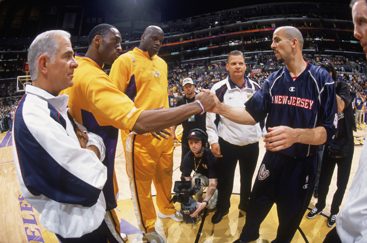 sports shoes 47365 3ecc8 A CAREER IN PICTURES - The Official Web Site of Jason Kidd ...